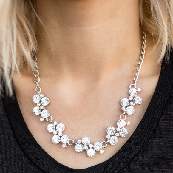 Hollywood Hills White Necklace